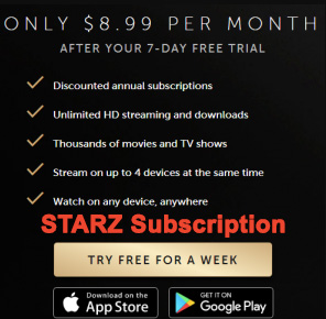 How to Activate Starz Play | ALL DEVICES