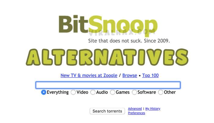 Bitsnoop alternatives