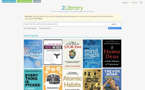 b-ok.org ZLibrary