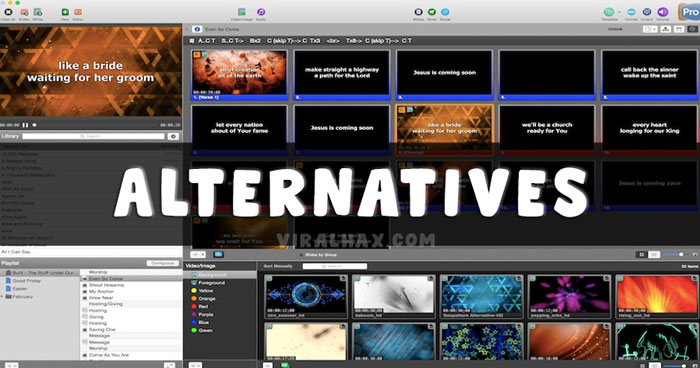 Propresenter alternatives