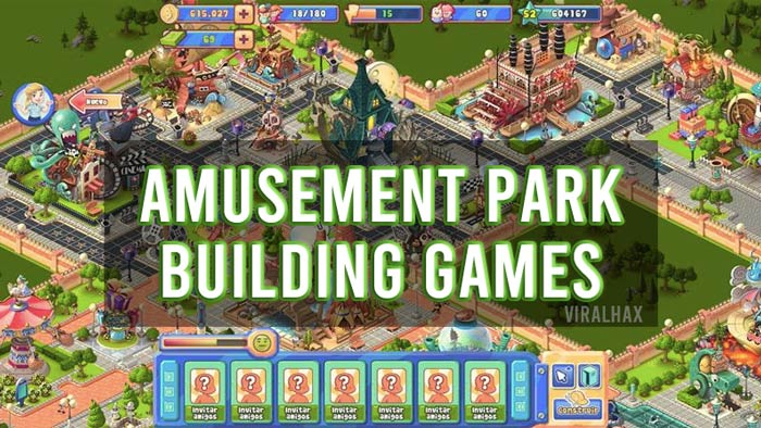 Amusement Park Building Games For PC