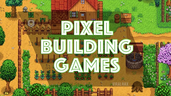 Pixel Building Games