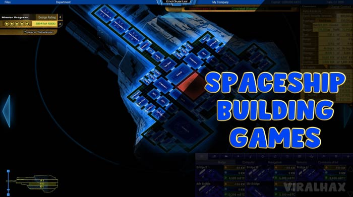 Best Spaceship Building Games For PC