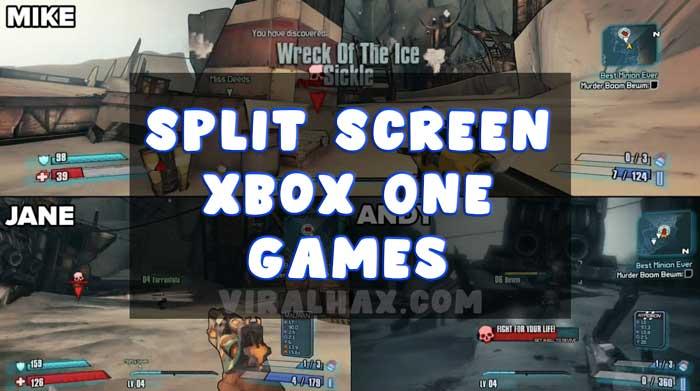 Split Screen Xbox One Games