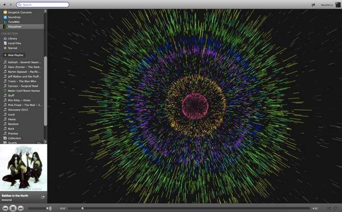Spotify Web Visualizer