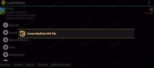 Create Modified Apk