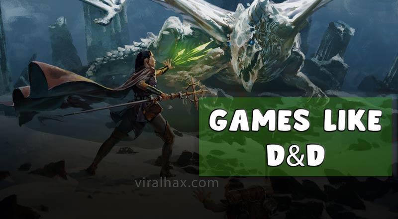 Games Like D&D