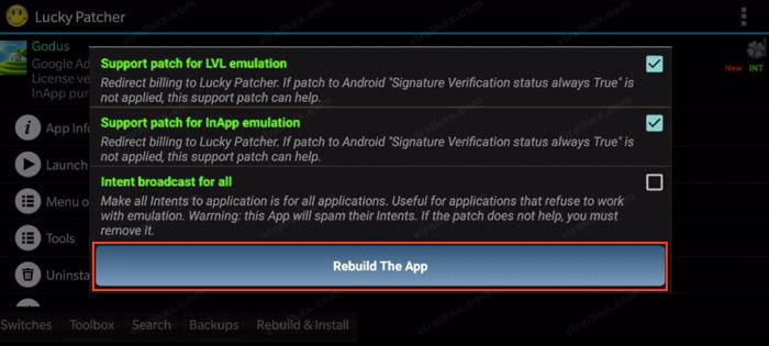 Rebuilt the App