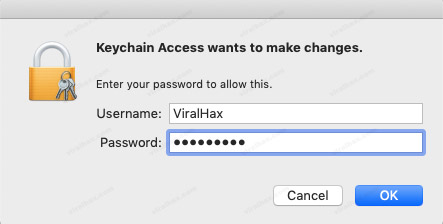 Enter Username and Password to see password