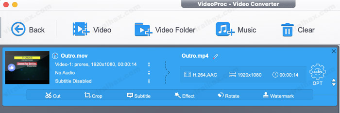 Easy to use video editing features