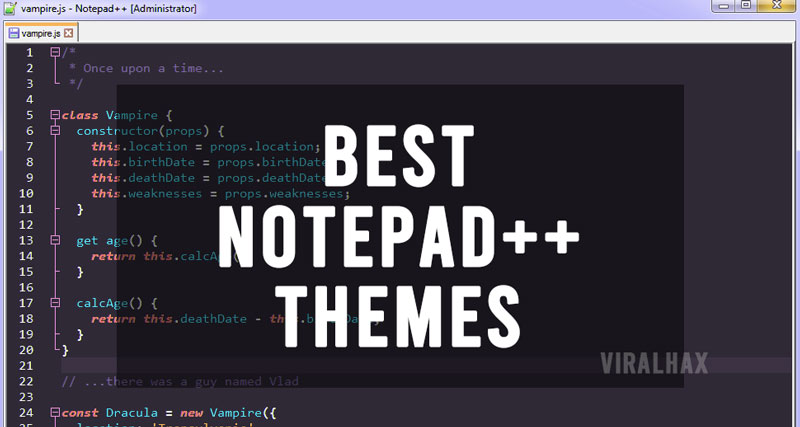 Best Notepad++ Themes