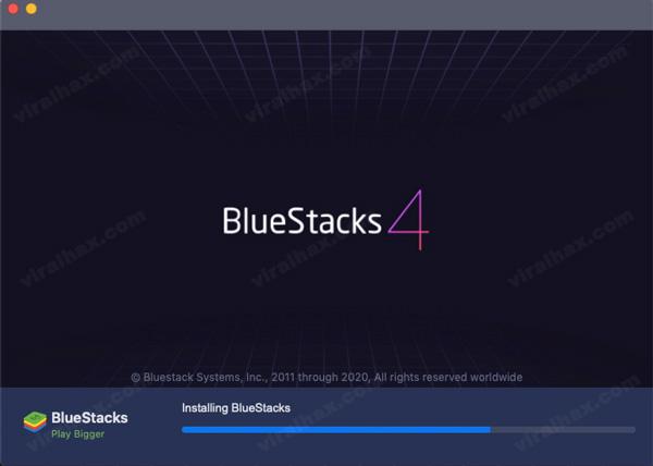 bluestacks installing in Mac