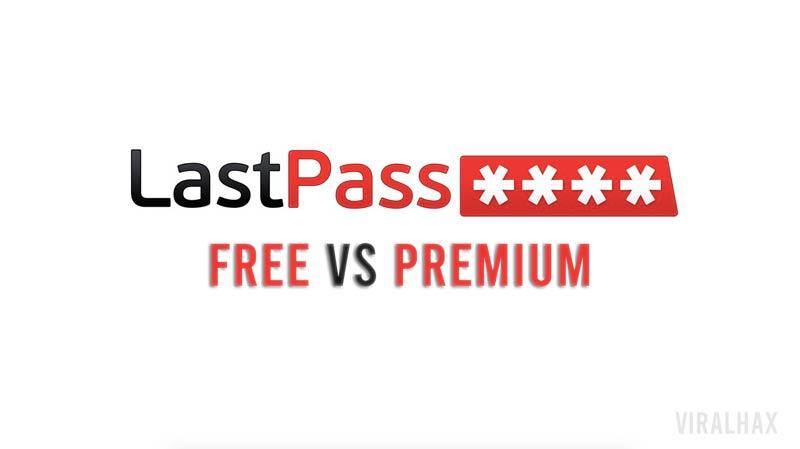 Lastpass Free vs Premium