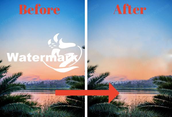 PIXLR removes Watermark