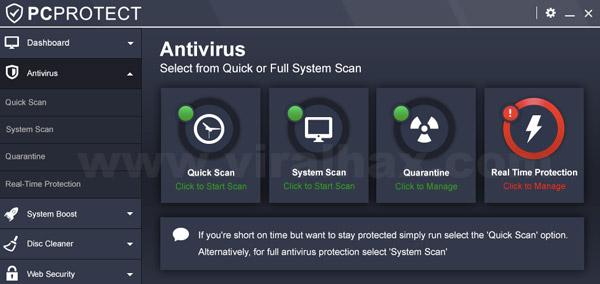 PC Protect Antivirus