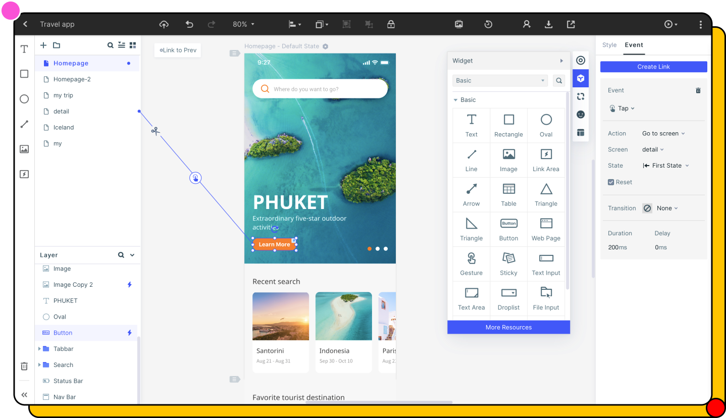 Wondershare Mockitt - Create Prototypes Sketch for Your Apps And Websites