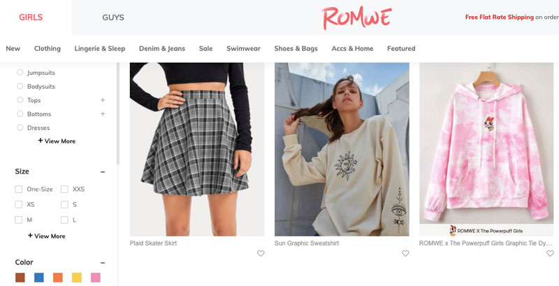 us.romwe.com